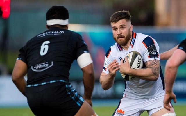 Luke Crosbie's Edinburgh performances won him a Scotland call-up.