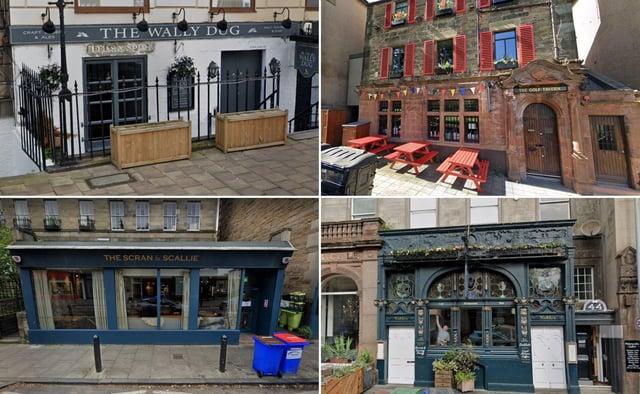 A few of Edinburgh's most dog-friendly pubs.
