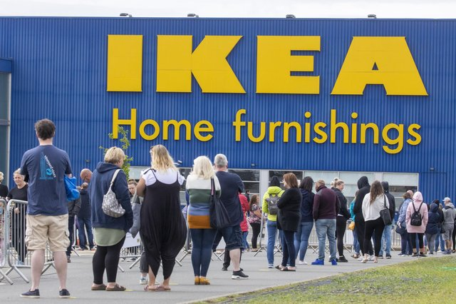 People living in Edinburgh will not be able to visit IKEA in Midlothian from Tuesday November 24 onwards.
