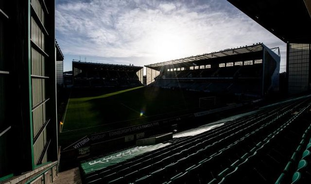 Blackout: Easter Road's social media channels will take part in the weekend of action (Photo by Craig Foy / SNS Group)