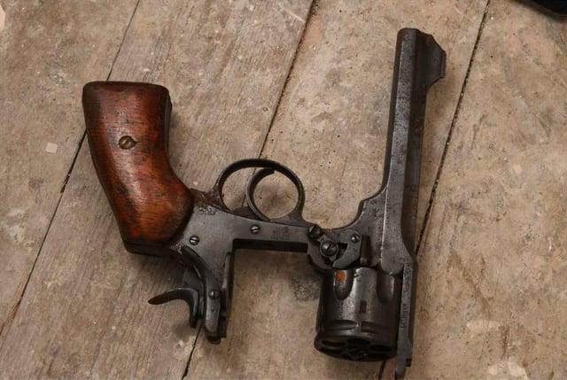 Deadly: Revolver seized from Sean Gillan