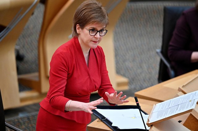First Minister Nicola Sturgeon has set out indicative dates for the easing of lockdown in Holyrood