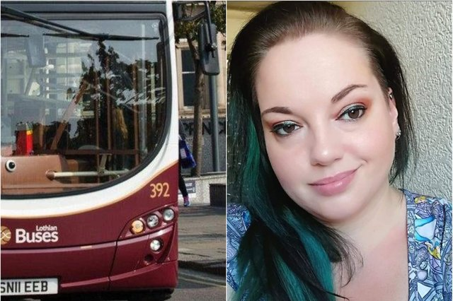 Kimberley Withnell, pictured, took action after hearing racial slurs towards a group of boys on a bus