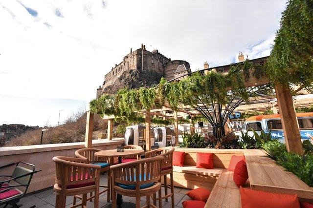 It's hard to beat some of these views seen from rooftop bars in the Capital.