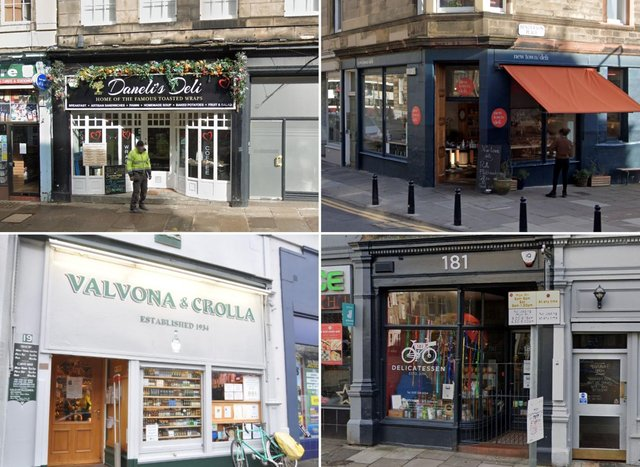 These are some of the best delis in Edinburgh.