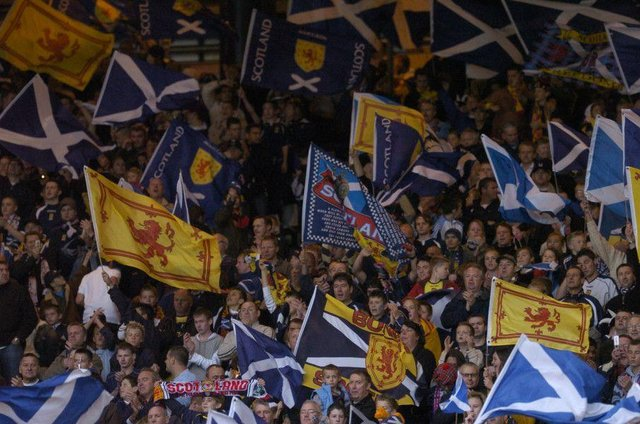 """Jeane Freeman says fans themselves """"hold the answer"""" to whether they can be inside Wembley when Scotland play England this summer."""