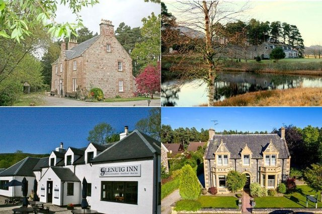 13 gorgeous hotels up for sale in the Scottish Highlands.