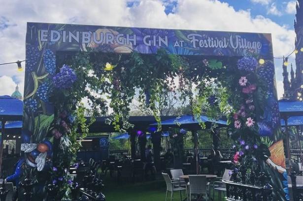 Open for business... Festival Village Picture: Aoibhínn Cullen