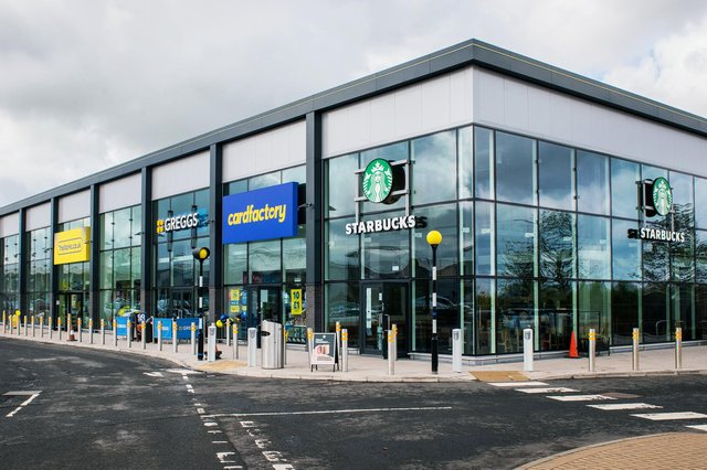 Straiton Retail Park is welcoming five new stores to its roster this week