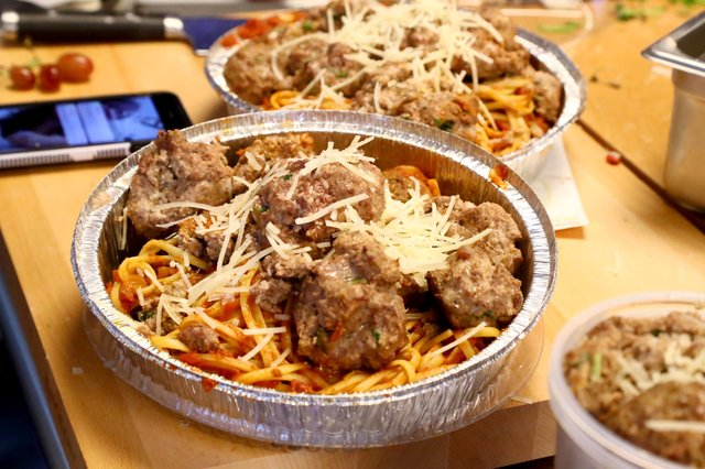 Meatball spaghetti is off the menu for one customer at Chez Hayley (Picture: Astrid Stawiarz/Getty Images)
