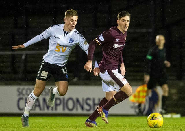 Hearts welcome Ayr to Tynecastle on Saturday. Picture: SNS