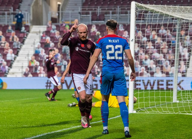 Hearts face their final game at Tynecastle Park this season with Inverness CT the opponents. Picture: SNS