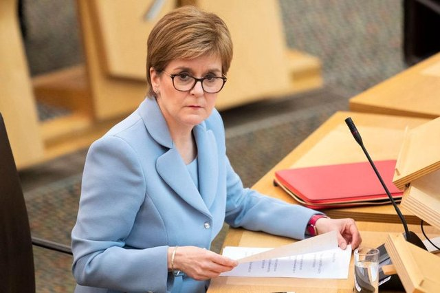 The First Minister has urged Scots to tune-in to the lunchtime briefing.