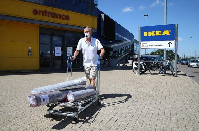 IKEA is set to reopen for in store shopping for Scottish customers, on 5 April (Picture: Getty Images)