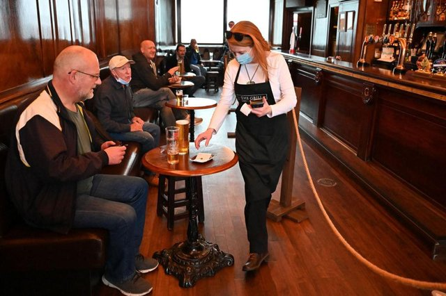Under the current Scottish Government roadmap for easing restrictions, venues such as cafes, pubs and restaurants can open for business again from April 26.