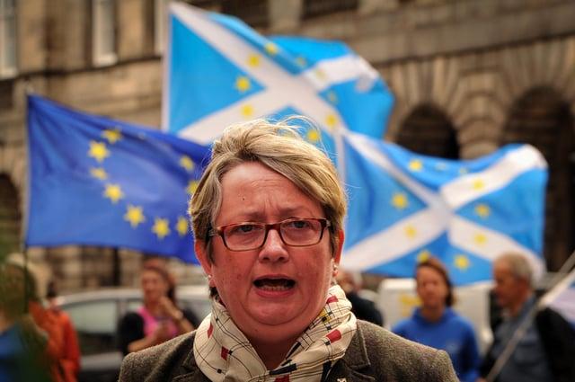 Abuse target: Joanna Cherry MP