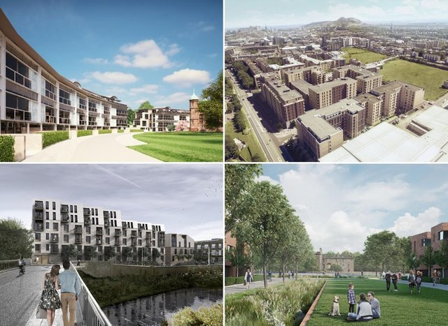 These developments will add thousands of homes to Edinburgh in the coming years.