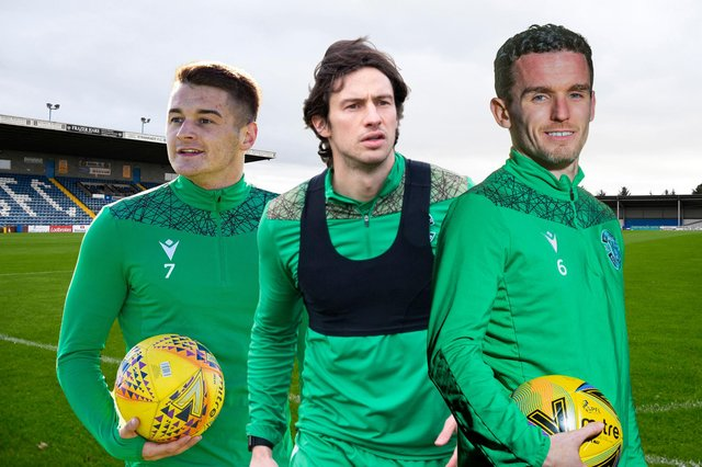 Hibs take on Stranraer this afternoon in the Scottish Cup fourth round