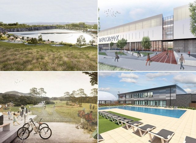 Some of the developments that will transform the sporting landscape of Edinburgh in the coming years.