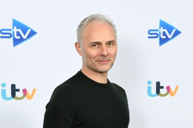 Crew working on the series, which stars Mark Bonnar and Jamie Sives, had previously been filming scenes in Glasgow since November 2020.