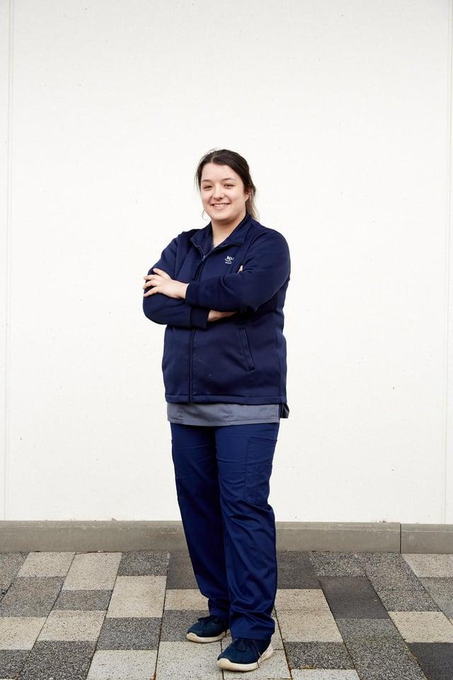 Edinburgh-based NHS worker Tamara Kamal credits her apprenticeships training with giving her skills to get through the challenges of the coronavirus pandemic.
