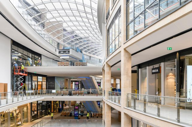 The completion of the first phase of the development brings a new, retail led, lifestyle district that fully integrates into and enhances Edinburgh's City Centre providing an inspiring, attractive, and vibrant destination for locals and visitors to shop, eat and play.