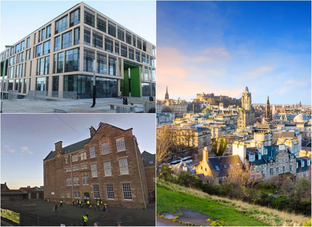 A number of schools across Edinburgh are oversubscribed the new school intakes.