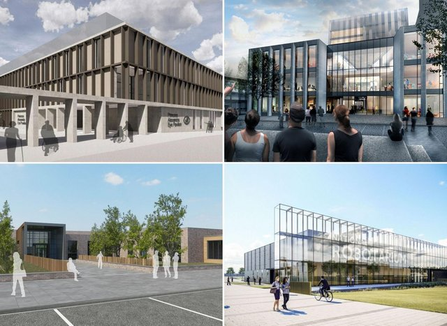 These are the major science and medical buildings planned for Edinburgh in the coming years.