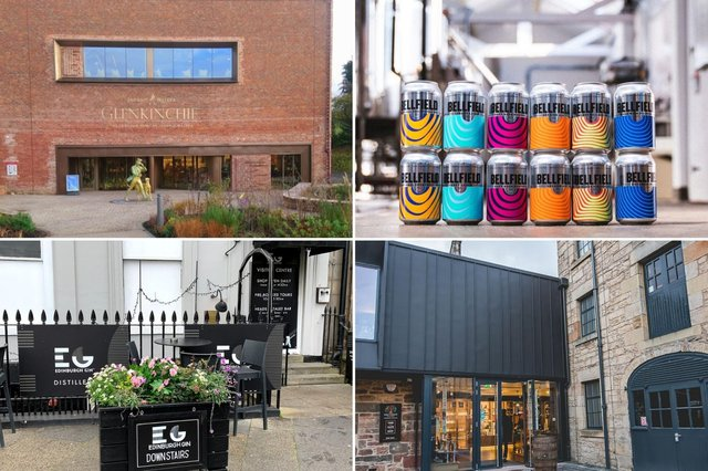 Here are some of the places in Edinburgh you can enjoy a beer, gin or whisky straight from the source.