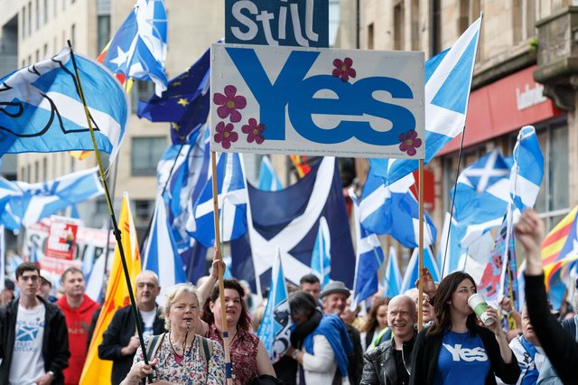 After the SNP's clear victory in the Scottish Parliament elections, an independence referendum should now take place, says Helen Martin (Picture: Robert Perry)