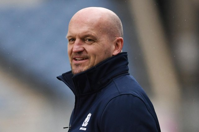Gregor Townsend has sent a good luck message to Steve Clarke and the Scotland national football team