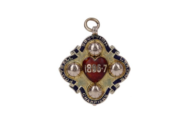 Tom Robertson's 1897 Hearts medal to go under the hammer