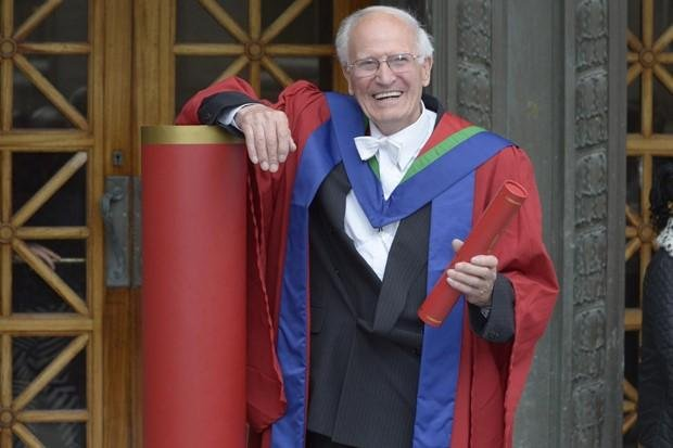Dr David Dick, the first Vice Principal of Napier College and the city's oldest PhD graduate.