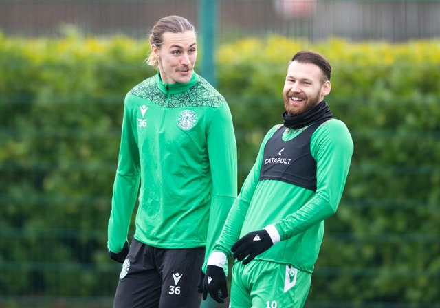 Jackson Irvine and Martin Boyle are hoping to carry on their Hibs form with Australia