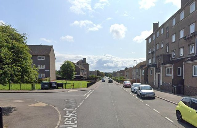 The serious assault happened in Wester Drylaw Drive. Pic: Google