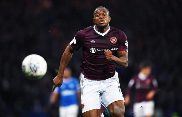 Uche Ikpeazu spent two seasons at Hearts between 2018 and 2020. Picture: SNS