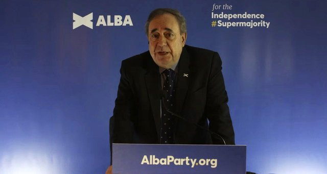Alex Salmond launched the Alba Party on Friday