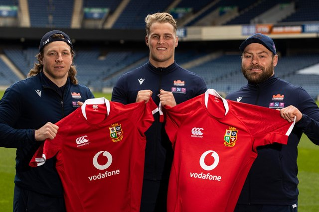 16,500 supporters will be permitted to attend next month's game between the British & Irish Lions and Japan at BT Murrayfield. Picture: Craig Williamson / SNS