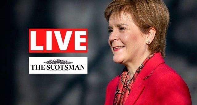 Nicola Sturgeon, the First Minister of Scotland.