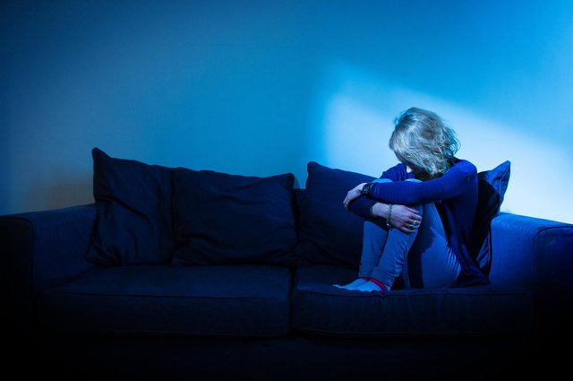 The isolation experienced by many during the Covid lockdown can lead to serious depression for some (Picture: Dominic Lipinski/PA)