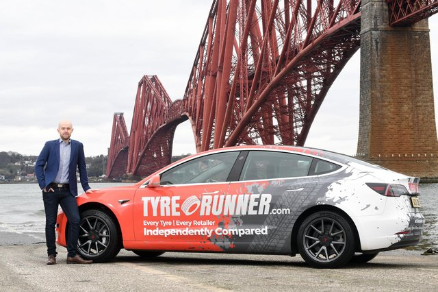 Launched in 2019 by the former Kwik-Fit and Ominfone software engineer turned serial company founder Bryan MacMillan, TyreRunner.com is supported by a board of tyre industry veterans. Picture: Stuart Vance