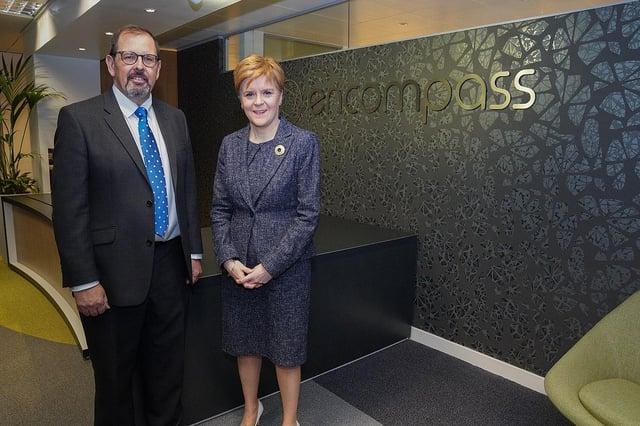 First Minister Nicola Sturgeon announces Scottish Enterprise funding