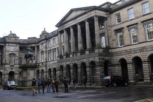 The court of trial in Edinburgh.