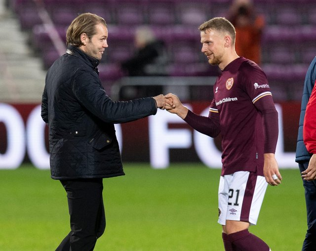 Hearts manager Robbie Neilson would like to keep defender Stephen Kingsley on a long-term contract.