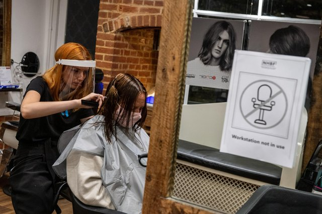 Hairdressers, garden centres and homeware stores reopen as lockdown easing begins on Easter Monday