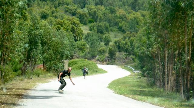 The skate escape.