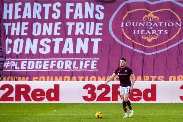John Souttar can be part of Hearts' spine next season.