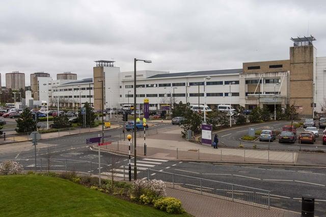 Edinburgh's Royal Infirmary has serious staff shortages