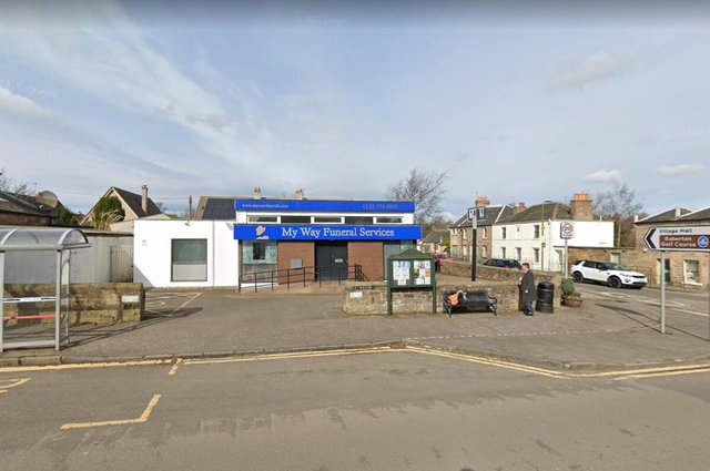 The former bank has already been turned into a funeral director's.    Image: Google Maps