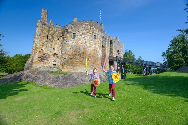 Dirleton Castle is just one of the stunning attractions around East Lothian.
